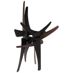 Mistral, an Original Patinated Steel Sculpture by American Artist Joey Vaiasuso