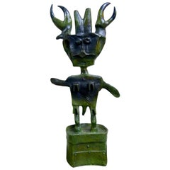Niño Insecto 'Bug Boy' Bronze Sculpture by Oaxacan Artist Sergio Hernandez