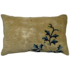 Chinese Bolster Rug Pillow