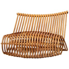 Marc Newson Wooden Slatted Lounge Chair