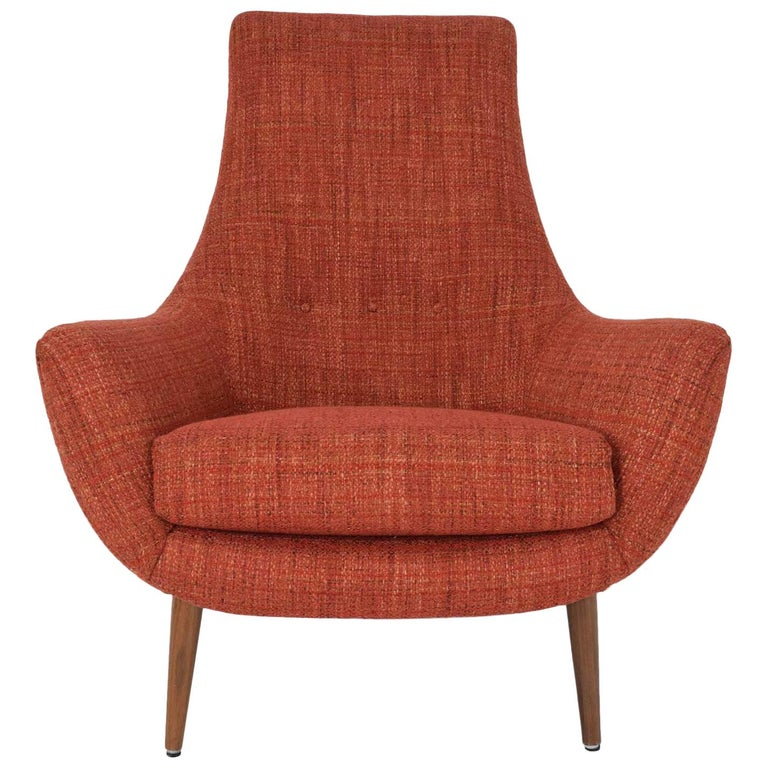 Mid-Century Modern Lounge Chair For Sale