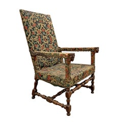 17th Century French Ratchet Armchair