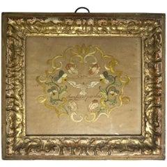 Embroidered Silk Holy Spirit Panel