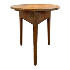 19th Century English Cricket Table