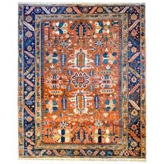 Incredible Late 19th Century Bakhshyesh Rug