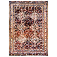 Outstanding Early 20th Century Kamseh Rug
