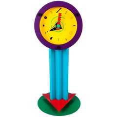 "Postmodern Colorful Desk Clock ""Paradise"", Shohei Mihara x Wakita, Japan, 1980s"