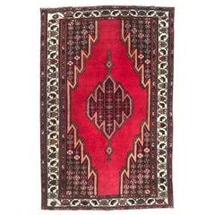 Beautiful Vintage Zanjan Rug