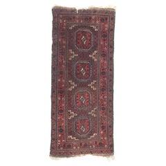 Beautiful Antique Fine Turkmen Tribal Rug