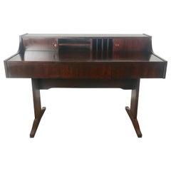 Stunning Danish Modern Rosewood Desk Attributed to Peter Løvig Nielsen Dansk