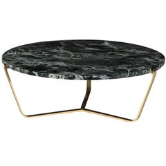 Dolomiti Green Alps Marble Low Coffee Table