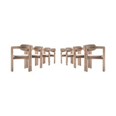 Augusto Savini Set of Eight Customized 'Pamplona' Chairs