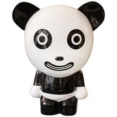 Happy Panda Sculpture by Jiji