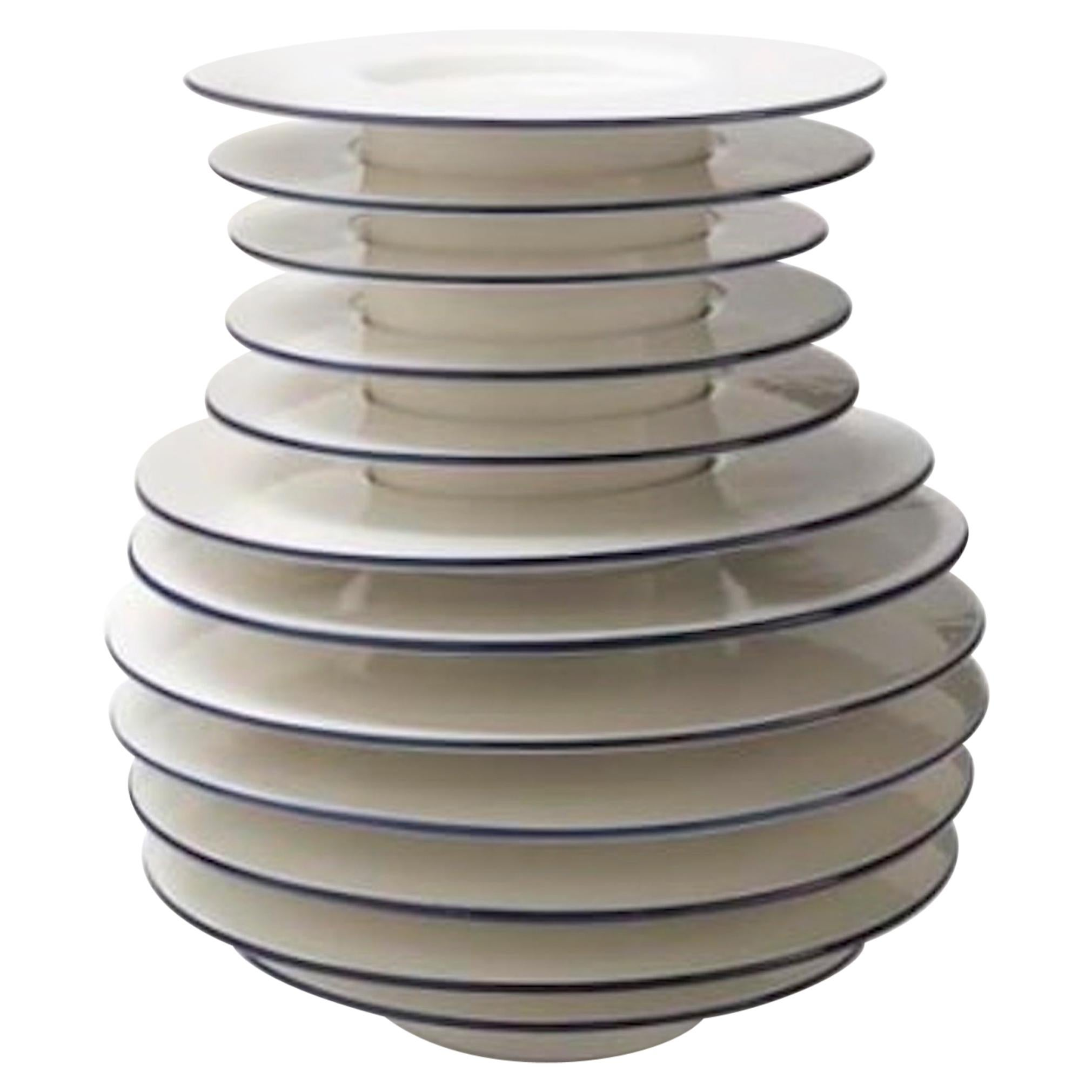 Andrea Branzi Italian Ceramic Sculpture Model Pila Superego Editions