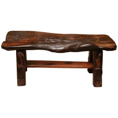 Ebony Straight Bench