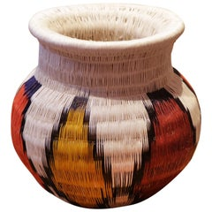 Colombian G Vase Hand-Braided