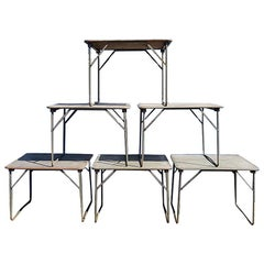 Second Half of the 20th Century French Army Folding Tables