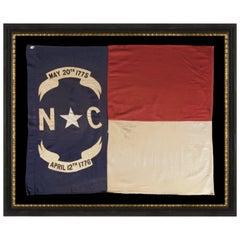 State Flag of North Carolina, circa 1900-WWI ERA