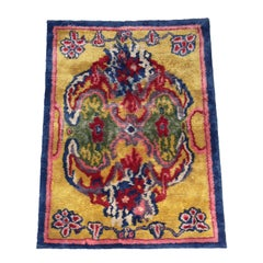 Colorful Silk Rug by Carini Lang