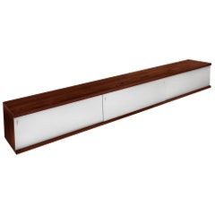 Extra Long Mid-Century Modern Rosewood Sideboard by Horst Brüning