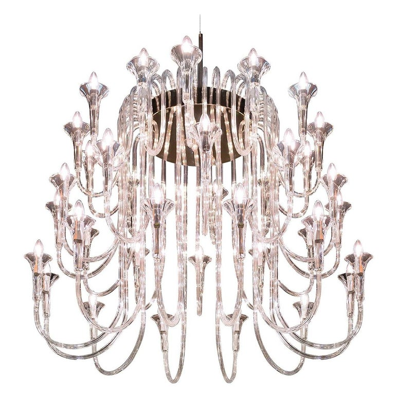 Octopus 36 Chandelier For Sale