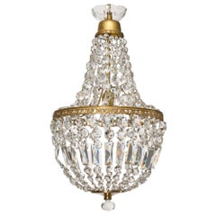 Empire Style French Crystal Chandelier