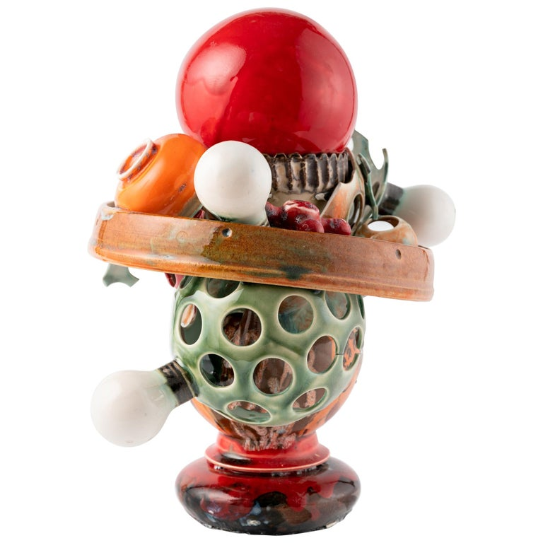 Extraordinary Ceramic Sculpture by Israel Sofia For Sale
