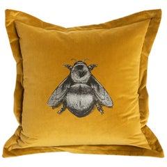 Honey Napoleon Bee Cushion by Timorous Beasties