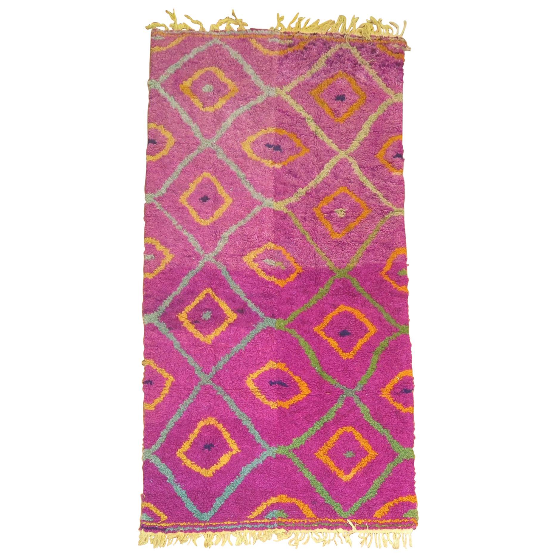 Vintage Moroccan Inspired Rug