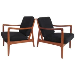 Pair of John Stuart Mid-Century Modern Chairs by Ole Wanscher