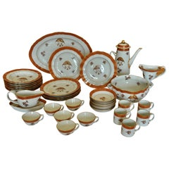 Armorial Service of Samson Chinese Export Porcelain for the American Market