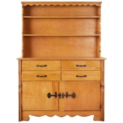 California Rancho Monterey Cupboard Cabinet by Frank Mason
