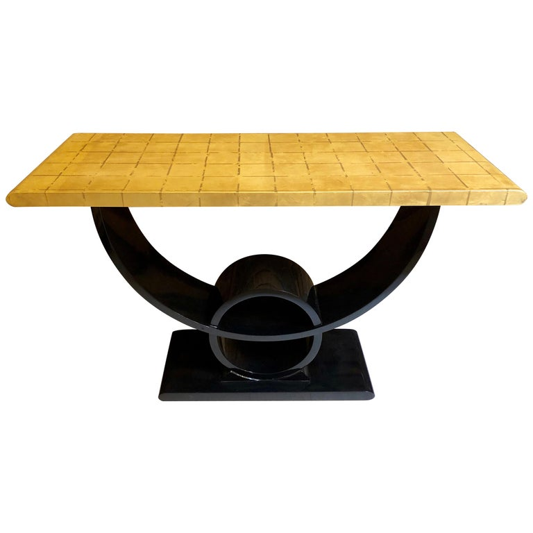 Jay Spectre Console Table For Sale
