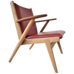 Danish Midcentury Arne Wahl Iversen Nr.14 Lounge Chair, 1955