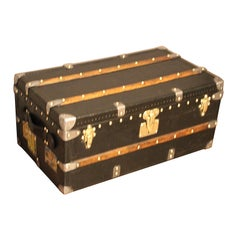 1910s Black Louis Vuitton Trunk