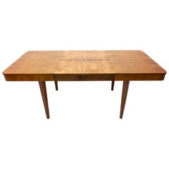 Midcentury Adjustable Dining Table by Jindřich Halabala for UP Závody Brno