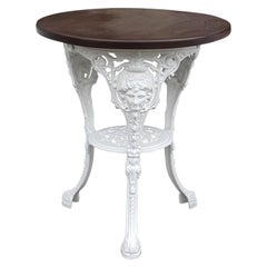Victorian Cast Iron Garden Table