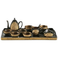 19th Century French Decorative Tea Set, circa 1870s