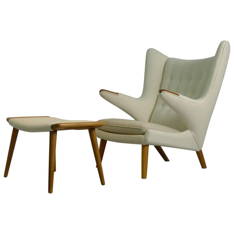 Terrific Hans Wegner For Ap Stolen Denmark Signed Papa Bear Lounge Ibusinesslaw Wood Chair Design Ideas Ibusinesslaworg
