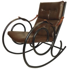 Vintage Iron Rocking Chair