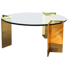 Leon Rosen for Pace Modern Round Cocktail Table