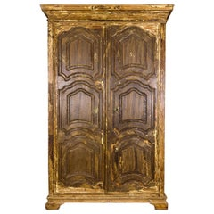 Pine Wardrobe, 18th Century, Spain