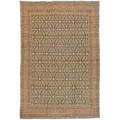 Vintage Persian Kirman Carpet