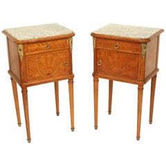Pair of Louis XVI Style Occasional Tables