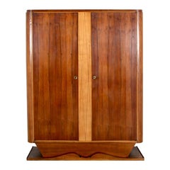 French Art Deco 1930s Armoire From Paris