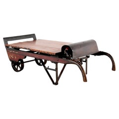 Original Grain Scale/Hand Cart Coffee Table