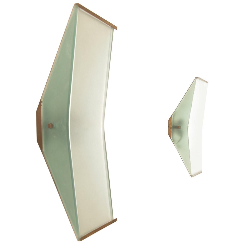 Wall Lights, Fontana Arte Model No. 2135