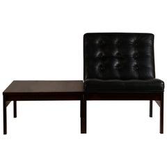 Modular Slipper Chair and Table Elements by Ole Gjerløv-Knudsen for France & Søn