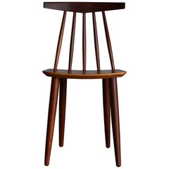 Poul Volther Spindle Back Chair for Frem Rojle, circa 1960
