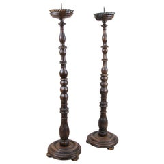 Pair of Baroque Candlesticks, Austria, circa 1770